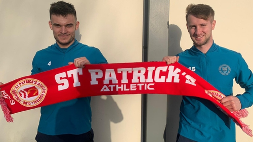 Pat's have made two new signings
