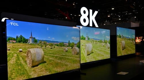 TCL showed off its new 8K televisions at CES 2020