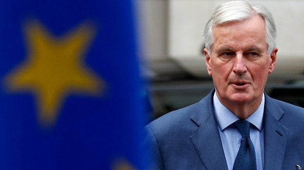 Michel Barnier was accused by the DUP of being the 'puppet' of the Irish government