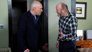 Barry reveals to Paul that Fiona was the one who set up the money laundering