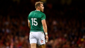 Will Addison featured at full-back for Ireland against Wales in the World Cup warm-up series, but didn't make the cut for Japan
