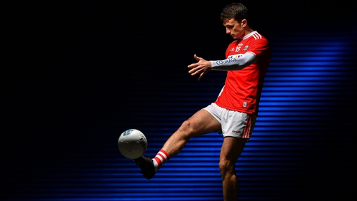Mark Collins of Cork pictured at the launch of the 2020 Allianz Football League