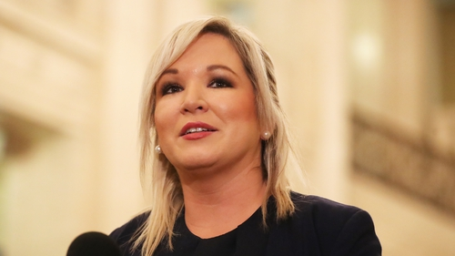 Sinn Féin's Michelle O'Neill urged all party members to be 'very vigilant' at this time