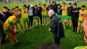 Declan Bonner is sticking with Donegal