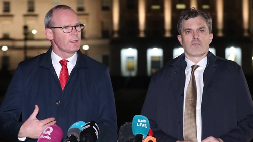 Northern Ireland Secretary Julian Smith and Tánaiste Simon Coveney have been co-chairing talks