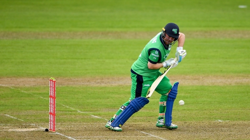 Paul Stirling's 63 helped the Irish to 237-9