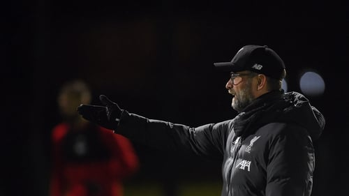 """Jurgen Klopp calls the shots at a Liverpool training session: """"sports coaching involves a multitude of people feeding numerous sources of information to the coach"""""""