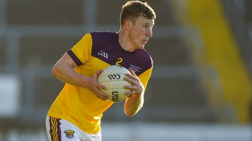 Michael Furlong in action for the Wexford footballers last year