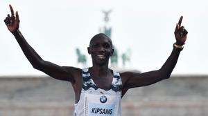 Kenya's Wilson Kipsang