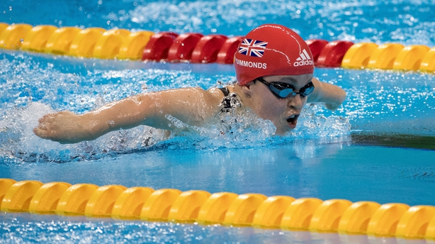 Ellie Simmonds wins the women's 200m Individual Medley in Rio