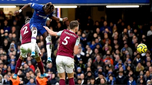 Tammy Abraham heads home Chelsea's second