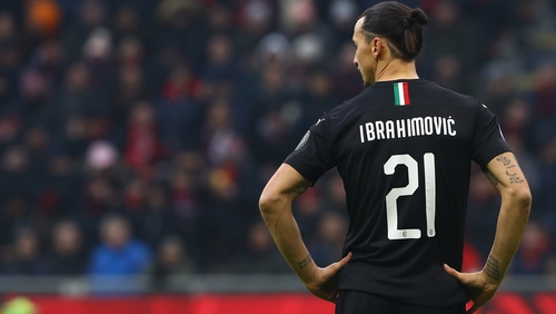 Zlatan Ibrahimovic has now scored a top-flight senior goal in four different decades.