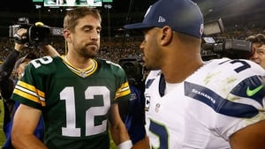 Aaron Rodgers and Russell Wilson