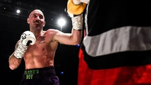 Spike O'Sullivan suffered a fourth defeat in his career