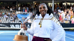 """Serena Williams: """"It's been a long time, I think you could see the relief on my face"""""""