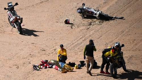 Dakar Rally tragedy as Portuguese rider Goncalves dies