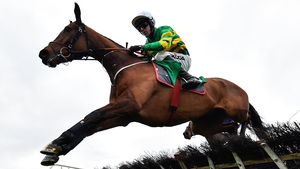 Andy Dufresne ground out victory in the Moscow Flyer Novice Hurdle.