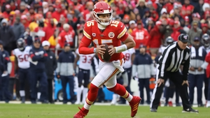 Patrick Mahomes had 325 yards and rushed for 53 more