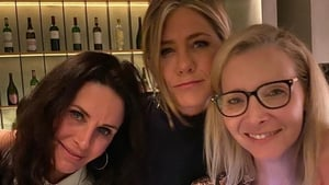 Courteney Cox, Jennifer Aniston and Lisa Kudrow
