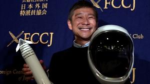Yusaku Maezawa hopes to travel around the Moon on a SpaceX rocket