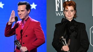 Andrew Scott and Jessie Buckley at the Critics' Choice Awards