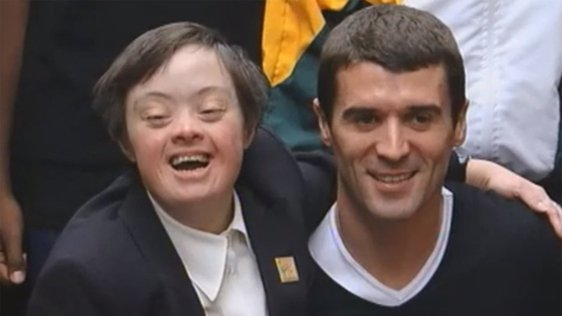 Roy Keane Special Olympics Launch 2003