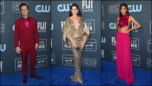 Dazzling jewel tones and brilliant brights ruled the red carpet.