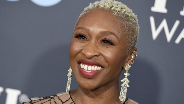 Cynthia Erivo arrives at the 25th annual Critics' Choice Awards (Jordan Strauss/AP)