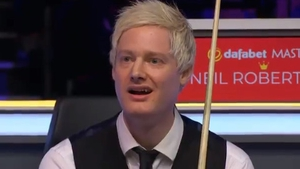 Dazed and confused - Neil Robertson's expression tells its own story