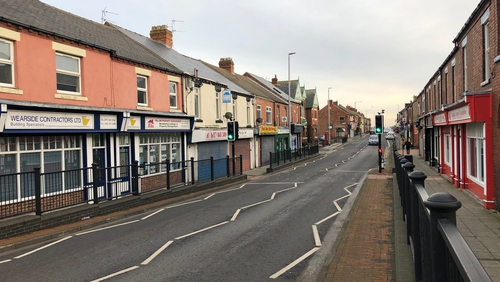 The money was left in plain sight on streets in the town of Blackhall Colliery