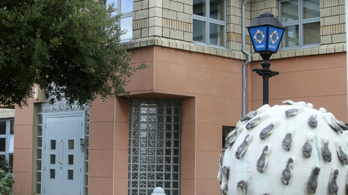 The man is being questioned at Ballyfermot Garda Station (Photo: RollingNews.ie)