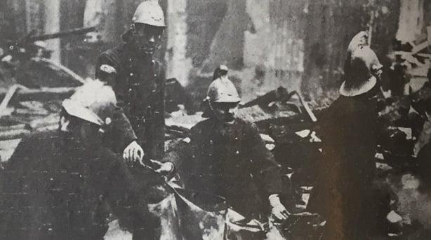 Century Ireland 170, Firemen in Rathmines Church, Irish Life