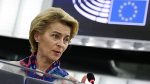 Ursula von der Leyen is to speak to the CureVac company