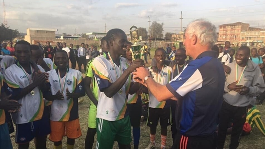 Kerry man makes impression on a school in Kenya