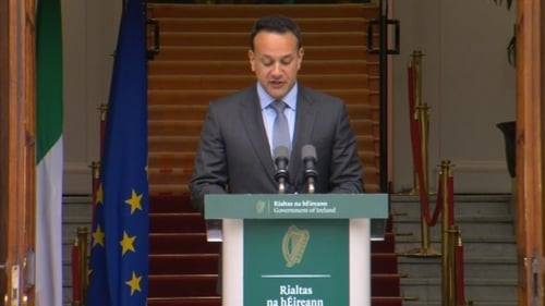Leo Varadkar confirmed the General Election will be held on 8 February