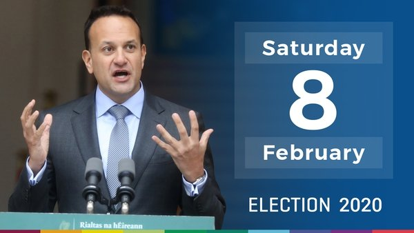 The election is to be held on 8 February