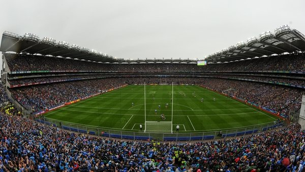 80,000 spectators fill Croke Park for the All-Ireland finals
