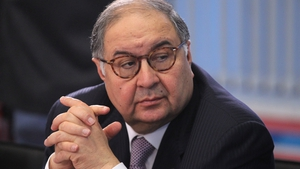 Russian billionaire and businessman Alisher Usmanov