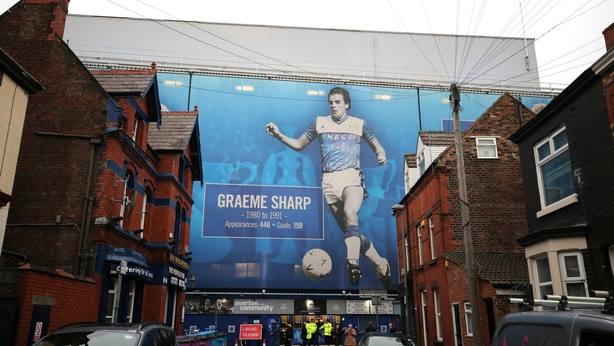 Everton's current Goodison Park home