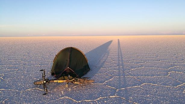 The Bolivia salt flats (Kate Rawles/PA)