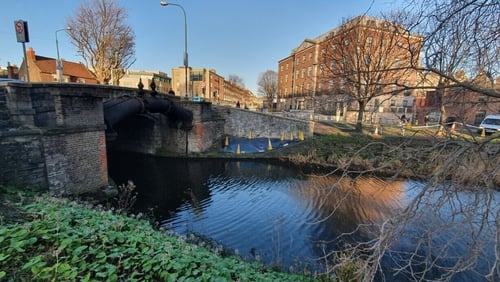 Homeless Man Seriously Injured In Canal Tent Removal