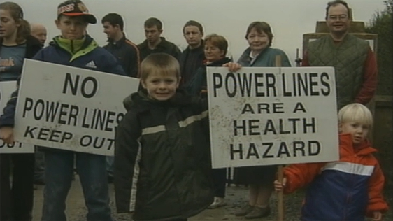 Kerry protest, 2000