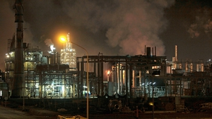 The cause of the blast at the IQOXE facility was not immediately known