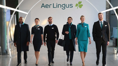 Aer Lingus said the new look reflects its status as a modern international airline with a proud Irish heritage
