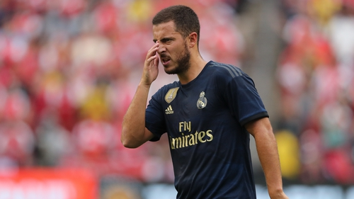 Eden Hazard says he was carrying some extra weight when he first arrived at Real Madrid