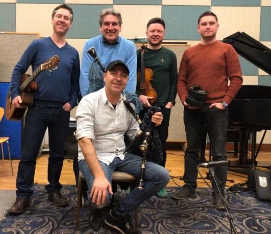 Studio 8 Session - Anxo Lorenzo, Jim Murray, Donal O'Connor and  Jack Talty