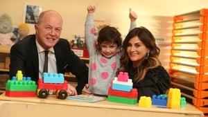 Cormac Tobin, Tigers Childcare chairman, Lilah Mahon and Karen Clince, managing director of Tigers Childcare