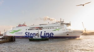The Stena Estrid ferry will make two daily return trips on the Dublin-Holyhead route