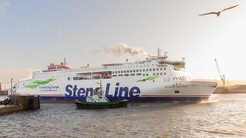 Stena employs 2,500 people in the UK and Ireland