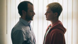 Tom Vaughan-Lawlor and Tom Glynn-Carney in Rialto
